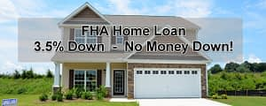 FHA Home Loan 3.5% Down Home Loans