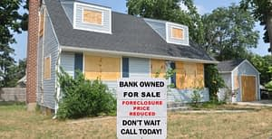 bank owned homes foreclosed