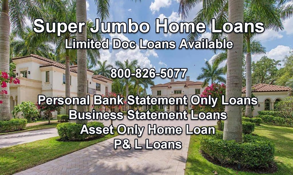 home loan over 10 million