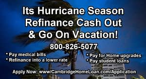 Refinance Cash Out and save!
