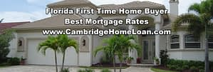 florida first time home buyer